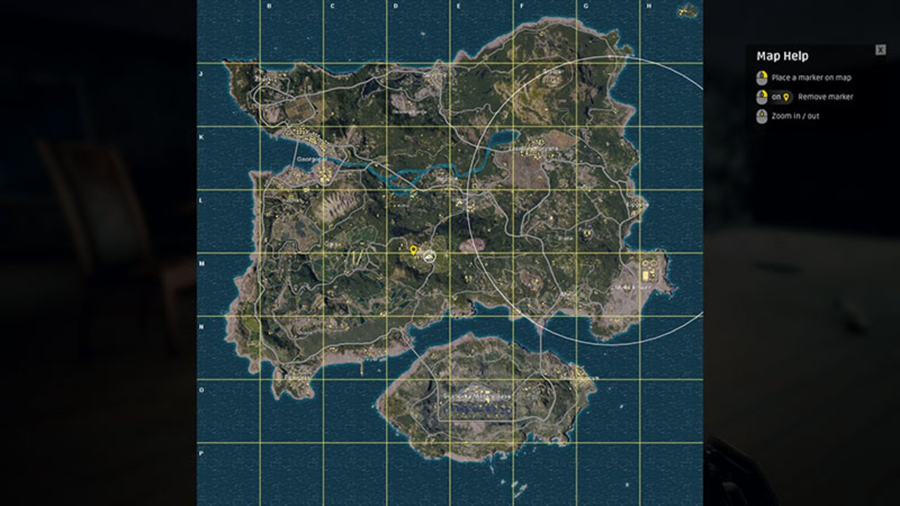 Playerunknown S Battlegrounds Maps Loot Maps Pictures: PUBG Map Guides