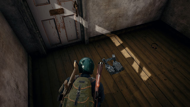 In-Game Screenshot of player finding a Level 1 Police Vest In PUBG