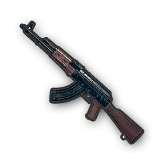 In-game image of PUBG Weapon AKM