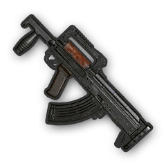 In-game image of PUBG Airdrop Crate Weapon Groza.