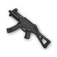 In-game image of PUBG Weapon UMP