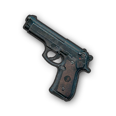 In-game image of PUBG Weapon P92