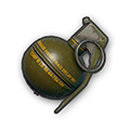 In-game image of PUBG Frag Grenade