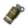 In-game image of PUBG Smoke Grenade