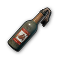 In-game image of PUBG Molotov Cocktail