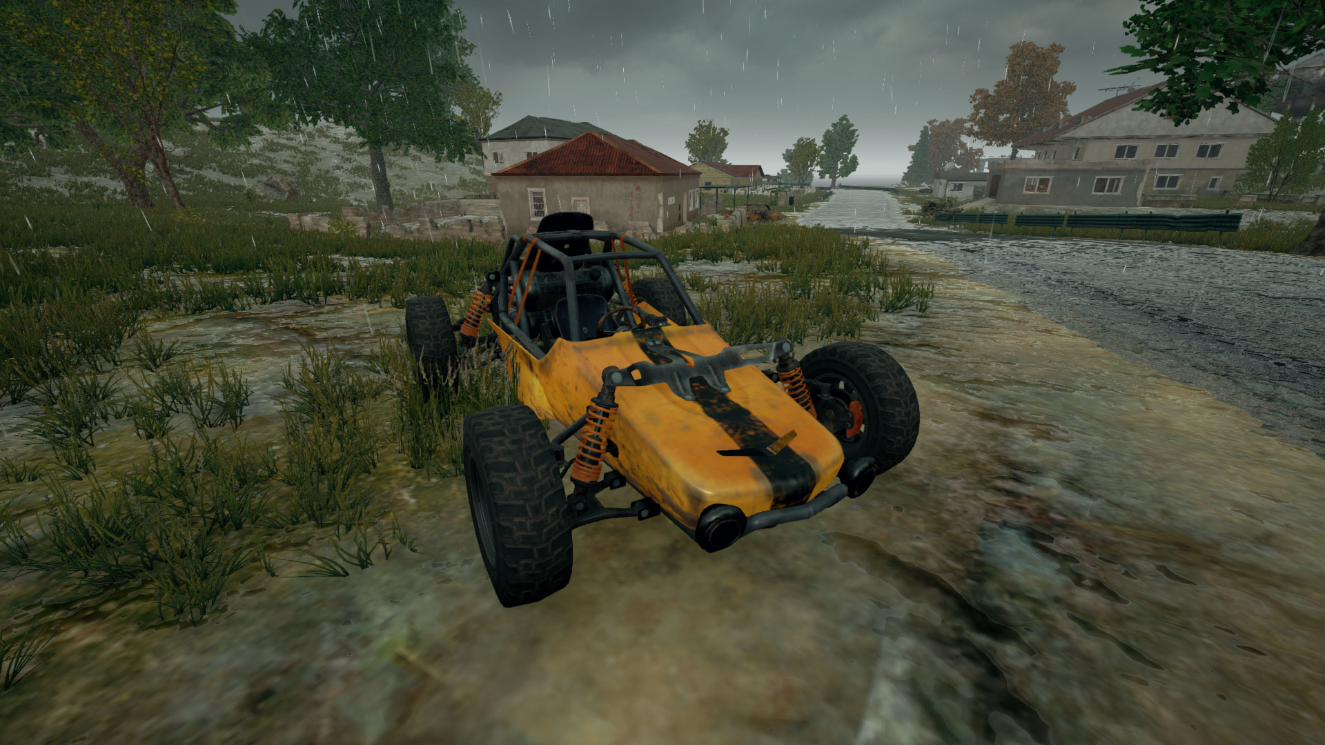 Picture of Buggy Vehicle from PUBG.