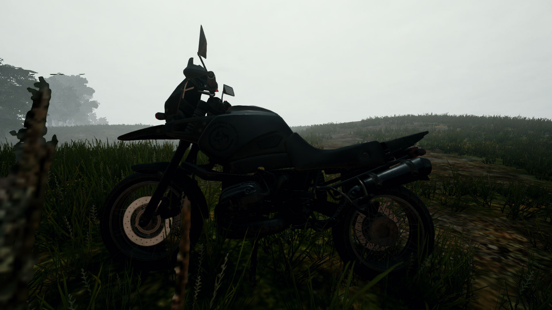 Picture of Motorcycle Vehicle from PUBG.