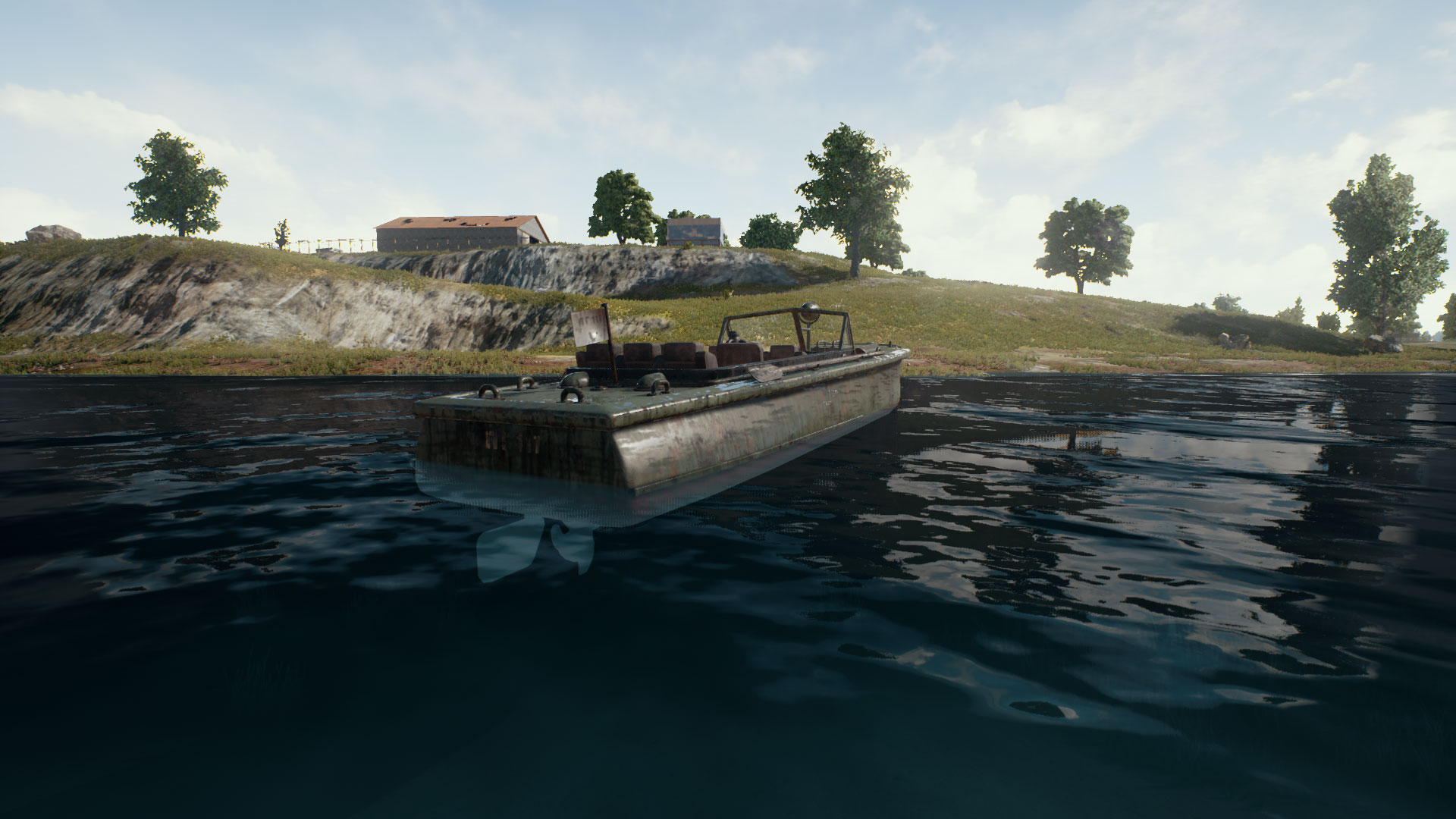 Picture of Boat Vehicle from PUBG.