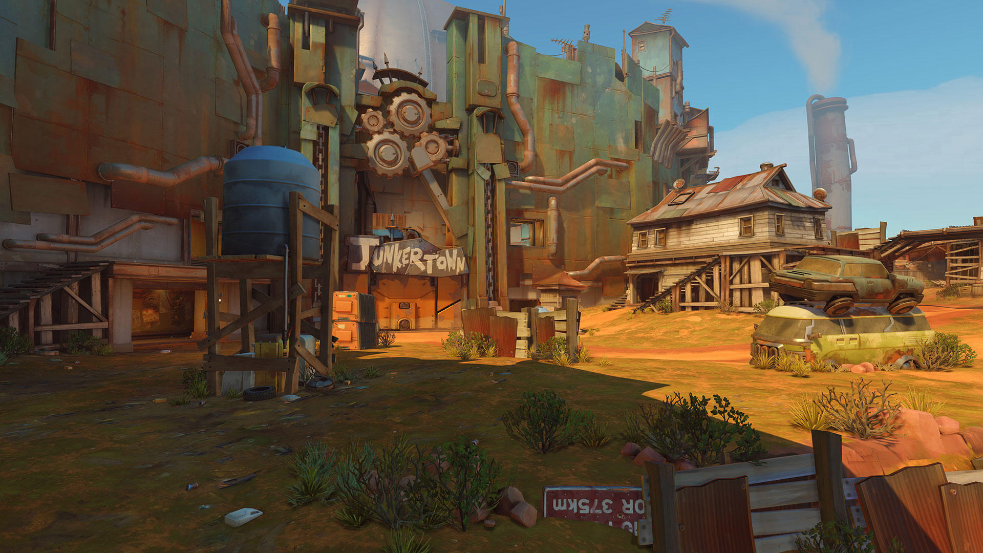 Junkertown In-Game Screenshot