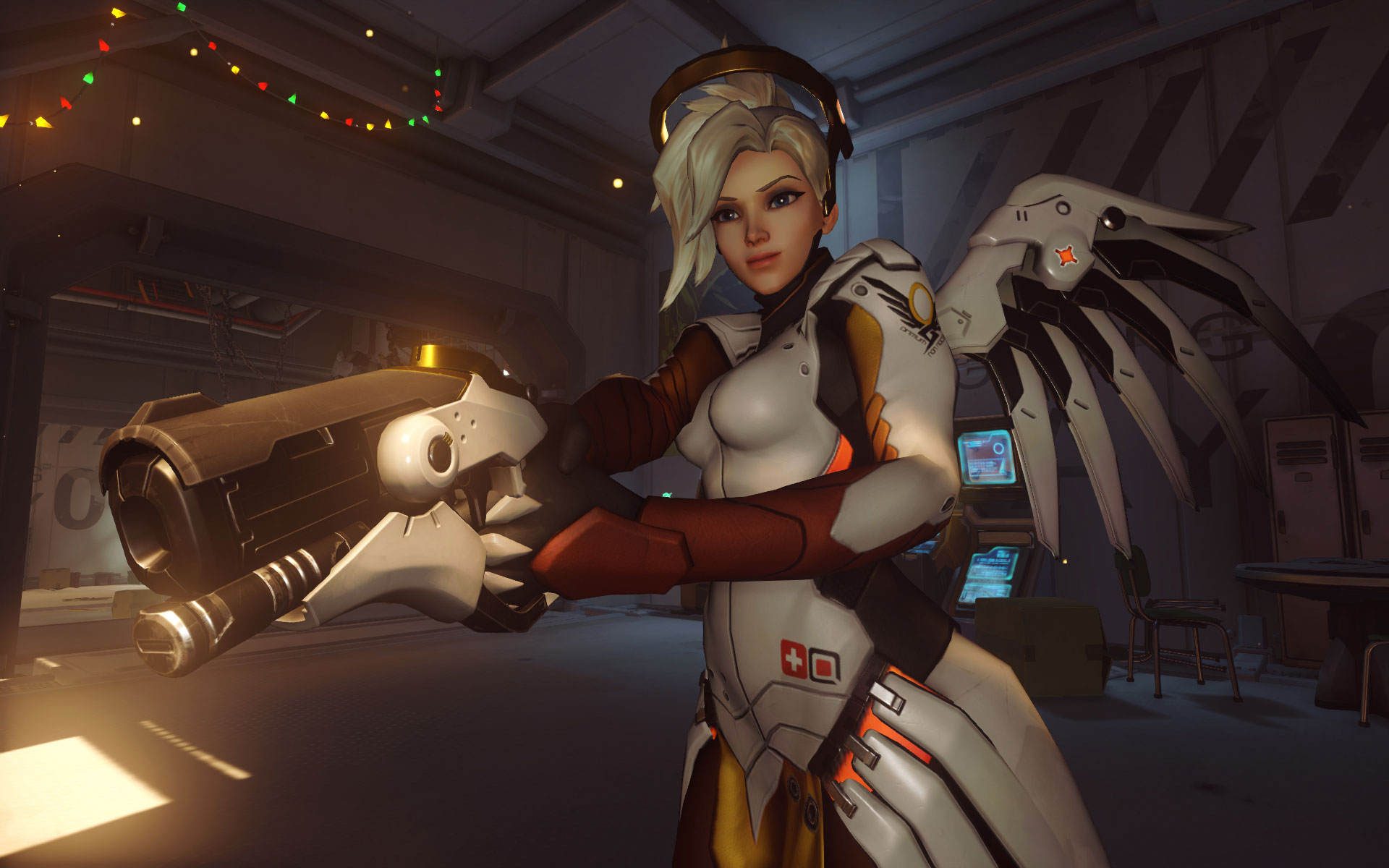 In-Game Screenshot of Mercy
